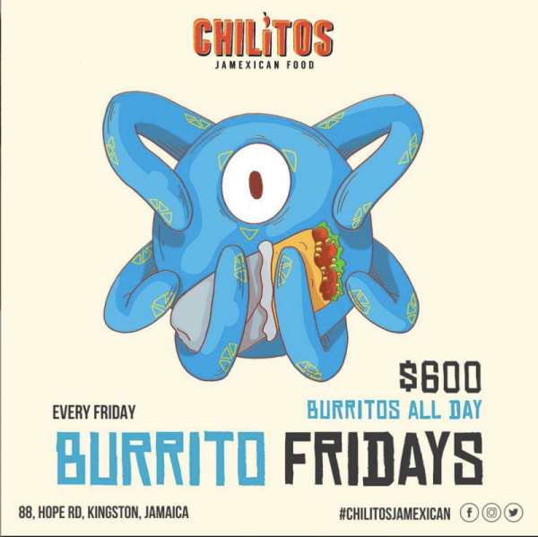 Chilitos: Burrito Fridays