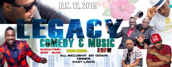 Legacy Comedy & Music