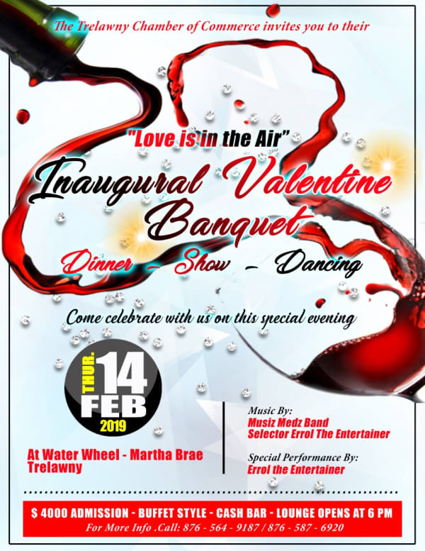 """""""Love is in the air"""" - Inaugural Valentine Banquet"""
