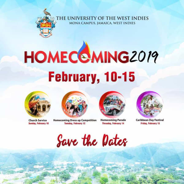 Save The Date: Homecoming 2019