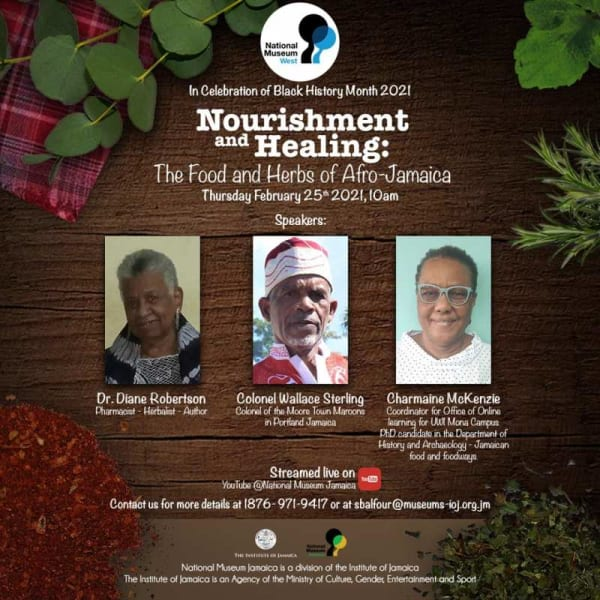 Nourishment and Healing: The Food and Herbs of Afro-Jamaica