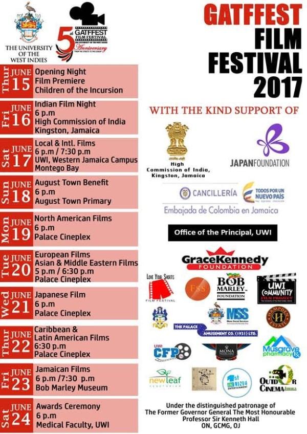 Greater August Town Film Festival (GATFFEST) August Town Benefit