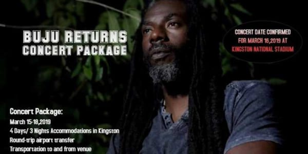 Buju Returns Concert Package