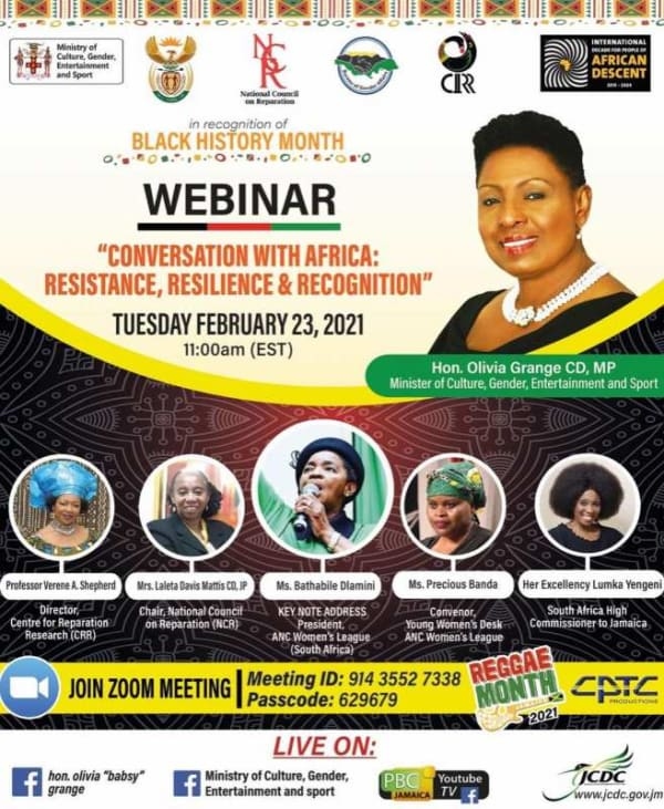 Conversation with Africa: Resistance, Resilience, and Recognition