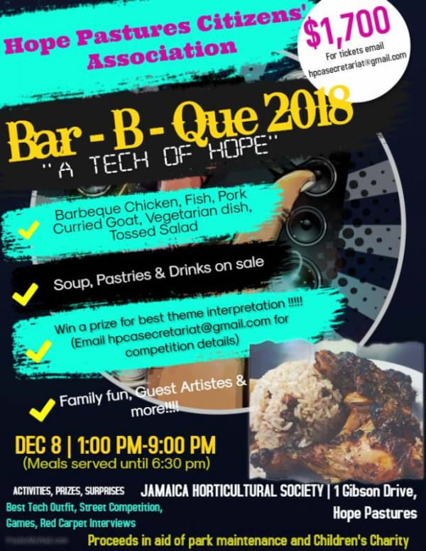 Bar-B-Que 2018: A Tech of Hope