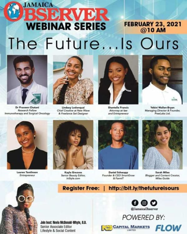 Jamaica Observer Webinar Series: The Future Is Ours